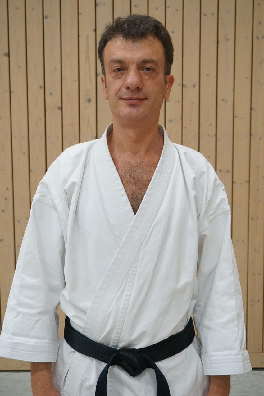 Jovica Kalinovic Cheftrainer Karate SV Ingolstadt Haunwöhr