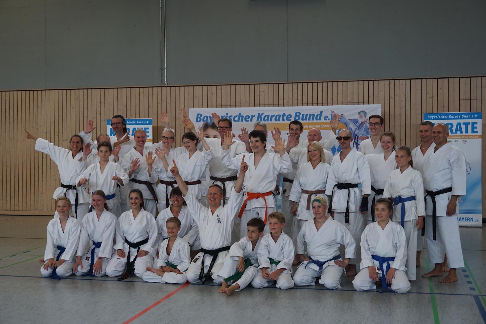Jubiläumslehrgang - 40 Jahre Karate Ingolstadt - Haunwöhr