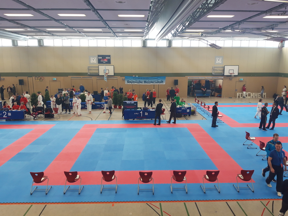 Bayerische Meisterschaft 2020 in Forchheim - Karate SV Ingolstadt - Haunwöhr