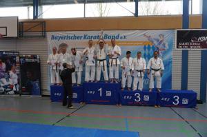 Bayerische Meisterschaft - Karate SV Ingolstadt - Haunwöhr