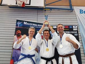 Bayerischer Meistertitel für das Kata Team (Masterklasse) 2018
