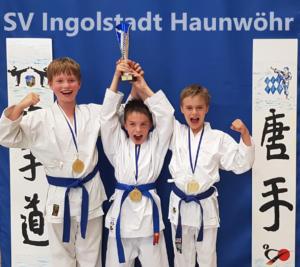 Bayerische Meisterschaft 2019 in Fürth - Karate SV Ingolstadt - Haunwöhr