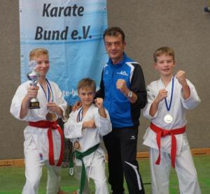 Bayerischer Meistertitel für das Kata Team Schüler 2018