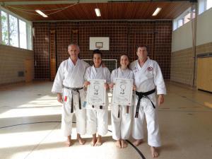 Dan-Prüfung in Vohenstrauß - Karate SV Ingolstadt Haunwöhr