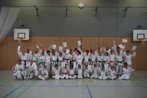 Karatelehrgang inklusive Gürtelprüfungen mit Jovica Kalinovic und Klaus Skorsetz