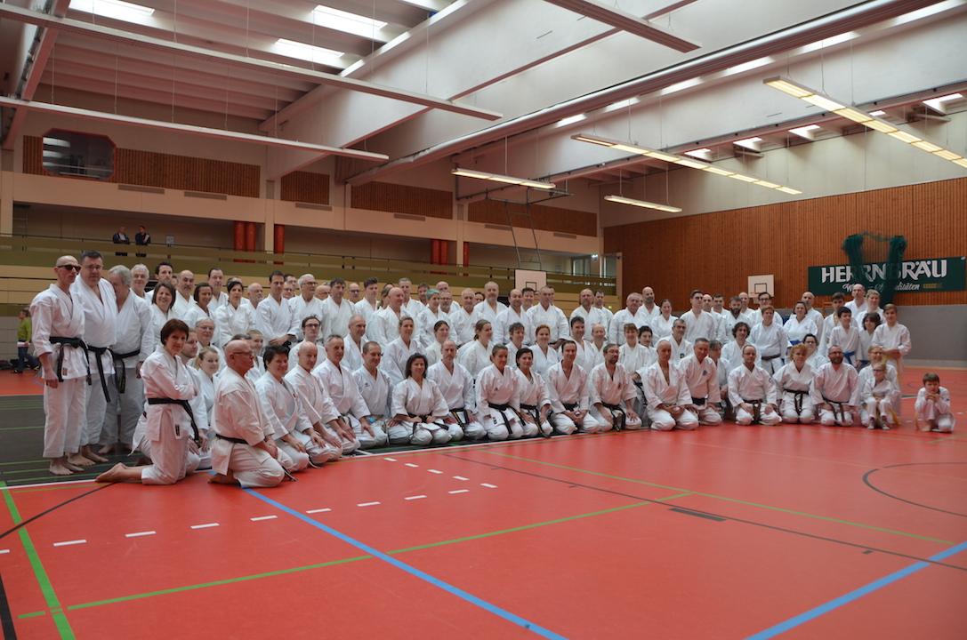 Karatelehrgang mit Lowinger und Körber - Karate SV Ingolstadt - Haunwöhr