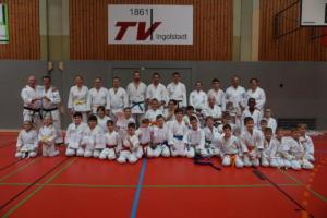 Karatelehrgang mit Gürtelprüfung 2018