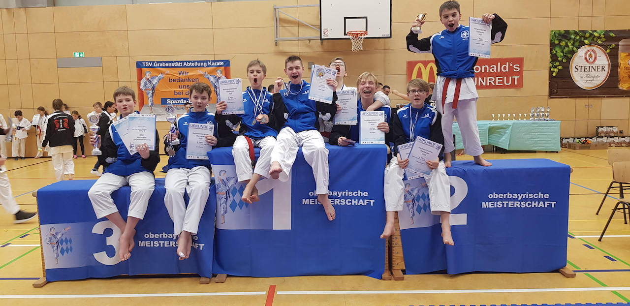 Oberbayerische Meisterschaft Traunreut - Karate SV Ingolstadt - Haunwöhr