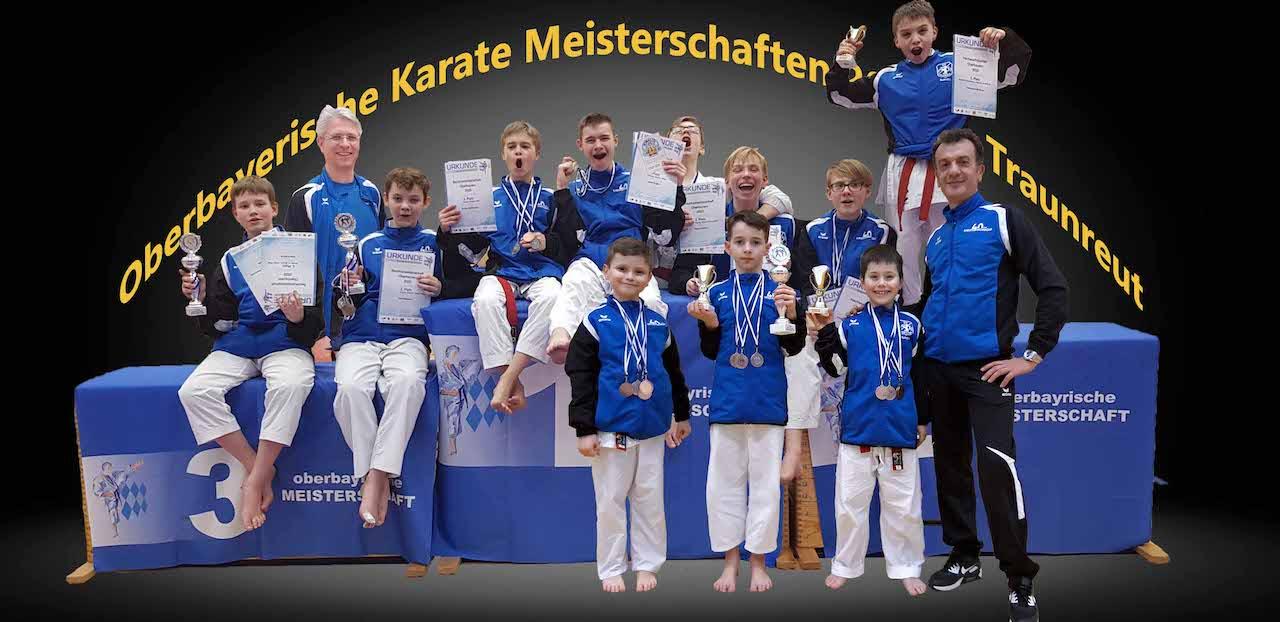 Oberbayerische Meisterschaft in Traunreut 2020