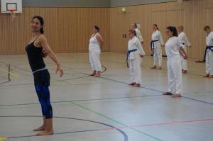 Yoga als schöne Abwechslung zum Karatetraining