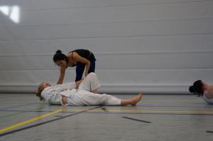 Yoga im Karatetraining - Karate SV Ingolstadt-Haunwöhr